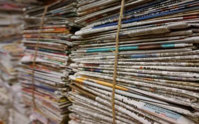 Recogida de papel-cartón: CONTENEDOR AZUL